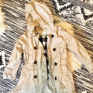 Zara Girls Trench Coat